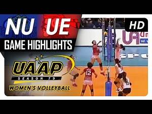 NU vs UE | Game Highlights | UAAP 79 WV | February 4, 2017