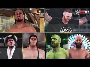 WWE 2K18 All Entrances 3 | Big Cass, JBL, Heath Slater, Andre, Ciampa, HHH, Tye Dillinger & More