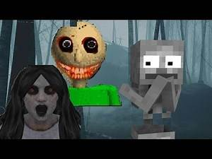 Monster School: SCARY HORROR GAME CHALLENGE - Minecraft Animation