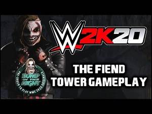 WWE 2K20 - Bump In The Night DLC - The Fiend Tower Gameplay