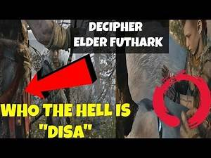 God of war 4- Decipher Elder Futhark! Translating Elder Futhark GOD OF WAR 4 TRAILER