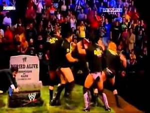 The Undertaker vs Kane buried alive match for the world heavyweight championship YouTube