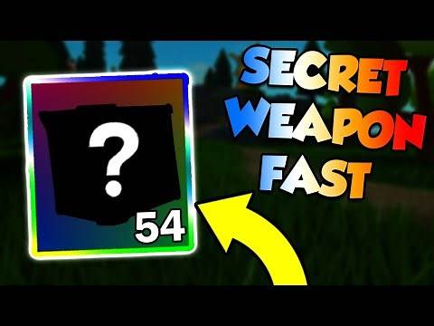 How to get *SECRET WEAPON* FAST in Roblox Islands! (SKYBLOX)