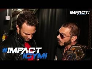 Austin Aries Confronts Eli Drake Backstage | IMPACT! Highlights May 3 2018