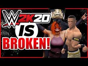 WWE 2K20 is Broken | Funny Glitches and Bugs