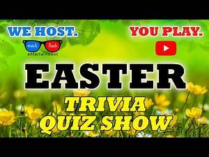 """Play an """"Easter-themed"""" Quiz Show! - Mack Flash Trivia Quickies"""