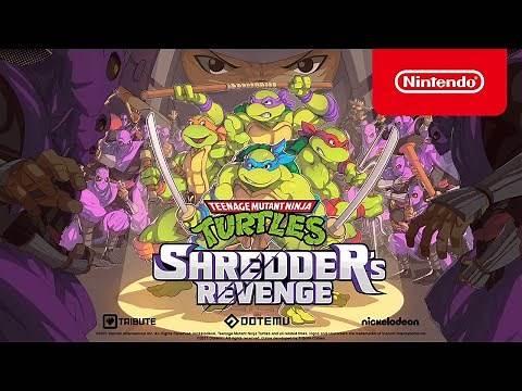 Teenage Mutant Ninja Turtles: Shredder's Revenge - Announcement Trailer - Nintendo Switch
