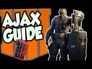 "Black Ops 4: ""AJAX"" Specialist Guide [Dominate On Offense & Defense]"