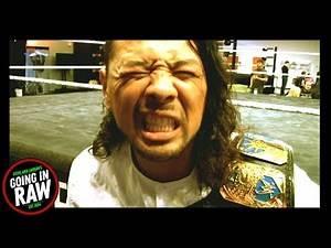 Shinsuke Nakamura On The Advice He Gave Velveteen Dream! Going In Raw Quick Chops!