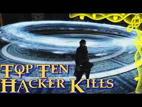 Dark Souls 2 - Top Ten Hacker Kills! (10)