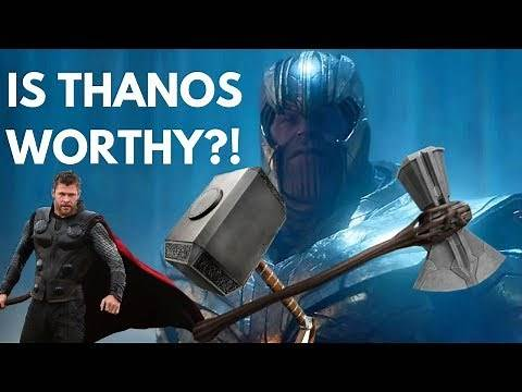 How Can Thanos LIFT Stormbreaker? Avengers Endgame Explained - Stormbreaker vs Mjolnir