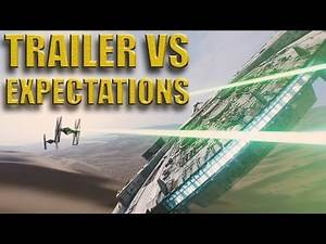 Star Wars: Force Awakens Trailer - Expectations VS Trailer