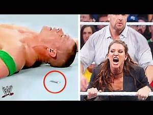 10 Deleted Moments WWE Doesn't Want Fans To See!