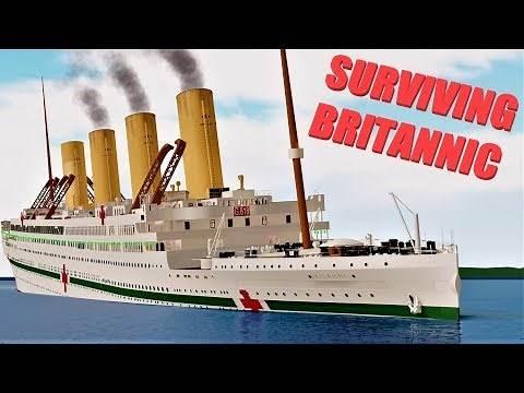 Surviving Britannic! | Roblox Britannic | With Railroadpreserver