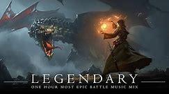 LEGENDARY | MOST EPIC BATTLE MUSIC | 1 Hour Orchestral Rock Mix | Antti Martikainen