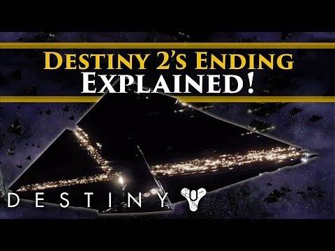 Destiny 2's Ending & Post Credits scene explained. (What are those things at the end?)