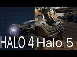 Halo 4 VS Halo 5 Vehicles