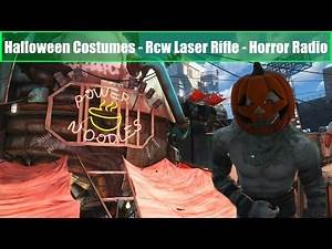 Fallout 4 Mods: Halloween Costumes - Rcw Tommy Gun - Horror Radio!