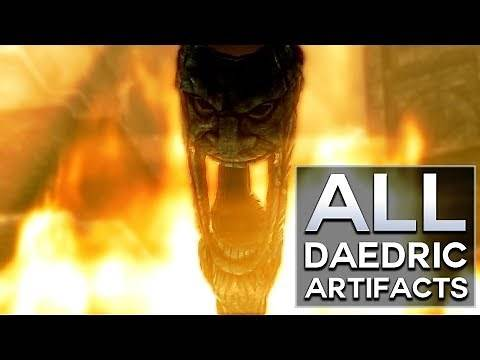 Skyrim - All Daedric Artifacts