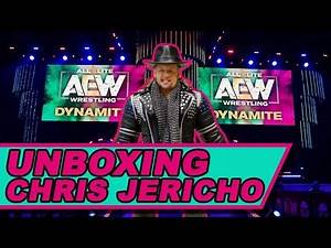 UNBOXING AEW Unrivaled Chris Jericho Action Figure Toy Review!!