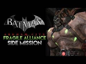 Batman: Arkham City - Fragile Alliance (Side Mission, No Commentary)