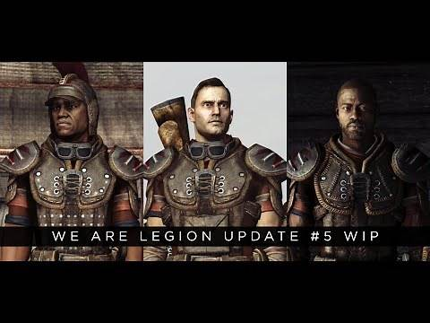 Fallout: New Vegas Remastered 2020 Mod We Are Legion Update #5 WIP