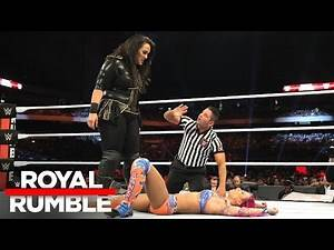 Sasha Banks vs. Nia Jax: Royal Rumble 2017 Kickoff