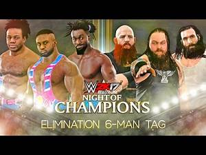 WWE 2K17 The New Day vs The Wyatt Family - ELIMINATION TAG MATCH   WWE 2K17 PS4 Gameplay