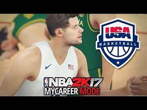 NBA 2K17 My Career Prelude - Ep. 6 - TEAM USA GAME!! (NBA 2K17 The Prelude)