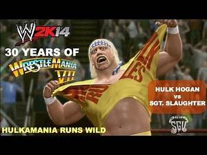 WWE 2K14: 30 Years of Wrestlemania (EP8) - Sgt. Slaughter vs Hulk Hogan
