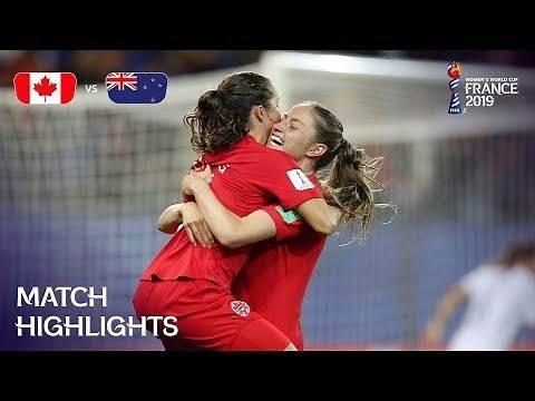 Canada v New Zealand | FIFA Women's World Cup France 2019 | Match Highlights