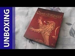 [Blu-Ray Unboxing] Game of Thrones: The Complete Second Season BBY Exclusive [Lannister]