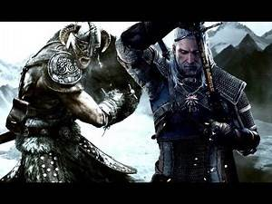 TES : Skyrim VS. The Witcher 3