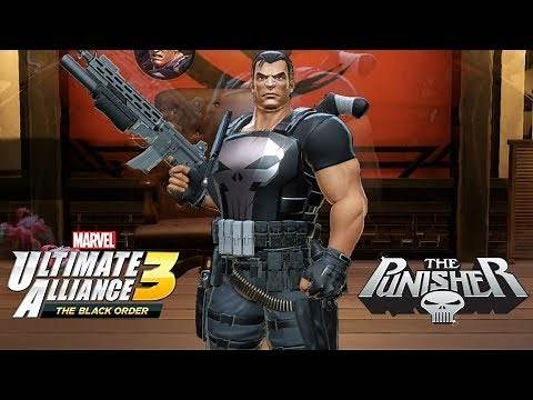 Marvel Ultimate Alliance 3 Punisher Unlocked! (Gauntlet Mode: Immortal War)