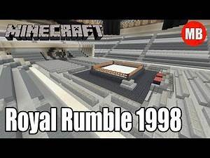 WWE Minecraft Arena | Royal Rumble 1998!