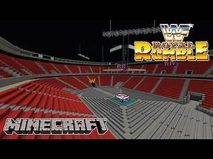 MINECRAFT WWE ROYAL RUMBLE 1990 STAGE HD