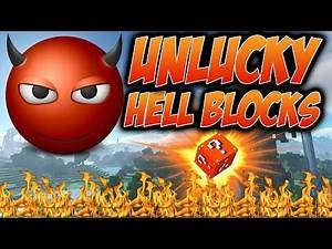 Minecraft Unlucky Blocks - Worst Blocks Ever w/ ASFJerome, Bodil & Nooch (Minecraft Lucky Block Mod)