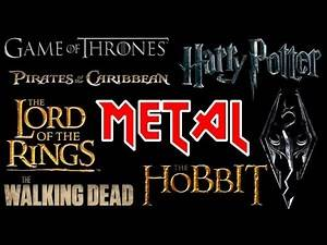 10 Theme Songs Gone Metal