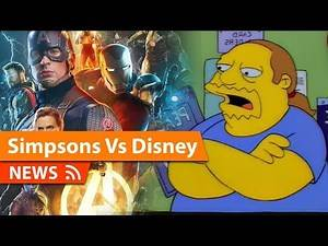 """Simpsons """"Calls out"""" Disney as Worst Corporate Stunt Ever"""