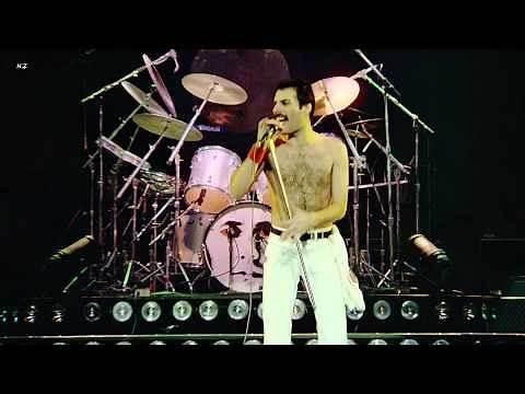 Queen - Under Pressure 1981 Live Video Full HD