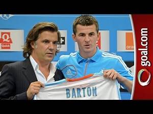 Joey Barton unveiled at Marseille