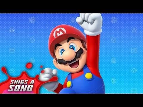 Mario Sings A Song (Super Mario Video Game Parody)