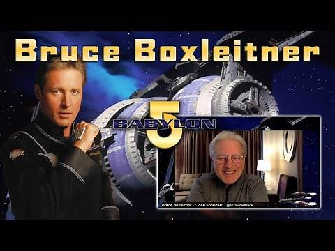 Bruce Boxleitner talks Babylon 5 on HBO Max, loss of Mira Furlan & other memories from the show