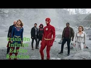 Crisis on Infinite Earths Part 4 REACTION {Arrow 8x08}