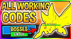 ALL NEW *WORKING* ANIME FIGHTING SIMULATOR CODES Anime Fighting Simulator (Roblox)
