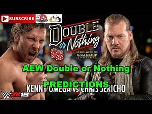 AEW Double or Nothing Kenny Omega vs Chris Jericho Predictions WWE 2K19