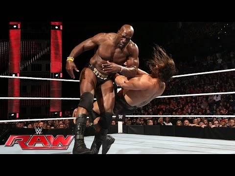 Titus O'Neil vs. Rusev: Raw, June 27, 2016