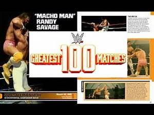 WWE 100 Greatest Matches Book Review
