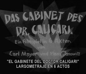 The Cabinet of Dr. Caligary (1920) Esp Sub
