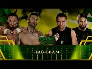 WWE 2K15 - Neville & Graves vs The Shield - Tag Team No DQ Elimination Match